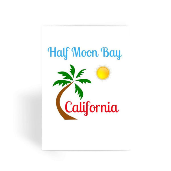 Half Moon Bay California Greeting Card 1 Prints