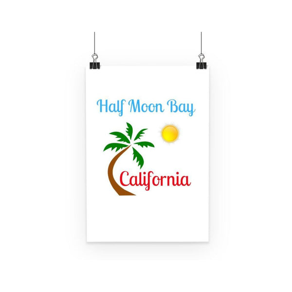 Half Moon Bay California Poster A3 Wall Decor