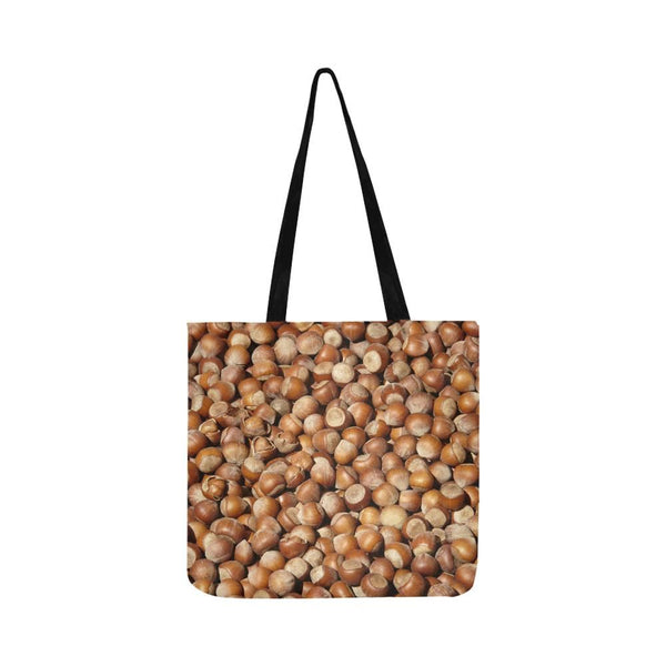 Hazelnuts Pattern Reusable Shopping Bag (Two Sides) Tote (1660)