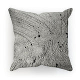 Holes In The Cement Surface Cushion Faux Suede / 12X12 Homeware