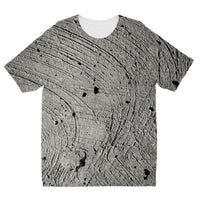 Holes In The Cement Surface Kids Sublimation T-Shirt 3-4 Years Apparel