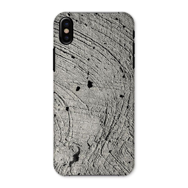 Holes In The Cement Surface Phone Case Iphone X / Snap Gloss & Tablet Cases
