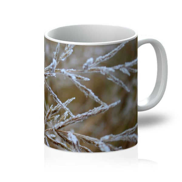 Ice Frozen On Plant Branches Mug 11Oz Homeware