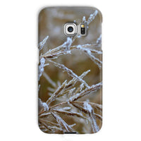 Ice Frozen On Plant Branches Phone Case Galaxy S6 Edge / Snap Gloss & Tablet Cases