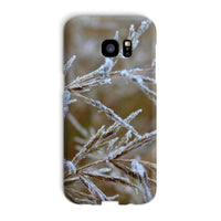 Ice Frozen On Plant Branches Phone Case Galaxy S7 Edge / Snap Gloss & Tablet Cases