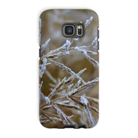 Ice Frozen On Plant Branches Phone Case Galaxy S7 Edge / Tough Gloss & Tablet Cases