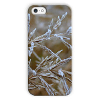Ice Frozen On Plant Branches Phone Case Iphone 5C / Snap Gloss & Tablet Cases