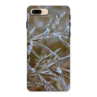 Ice Frozen On Plant Branches Phone Case Iphone 8 Plus / Tough Gloss & Tablet Cases