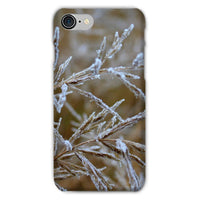 Ice Frozen On Plant Branches Phone Case Iphone 8 / Snap Gloss & Tablet Cases