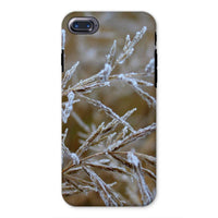 Ice Frozen On Plant Branches Phone Case Iphone 8 / Tough Gloss & Tablet Cases