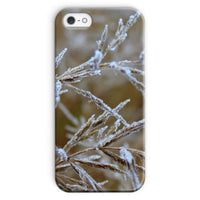 Ice Frozen On Plant Branches Phone Case Iphone Se / Snap Gloss & Tablet Cases