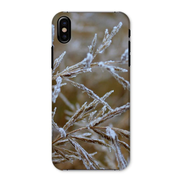 Ice Frozen On Plant Branches Phone Case Iphone X / Snap Gloss & Tablet Cases