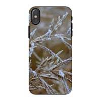 Ice Frozen On Plant Branches Phone Case Iphone X / Tough Gloss & Tablet Cases