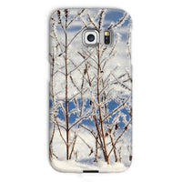 Ice Frozen On Plants Phone Case Galaxy S6 Edge / Snap Gloss & Tablet Cases