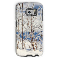 Ice Frozen On Plants Phone Case Galaxy S6 Edge / Tough Gloss & Tablet Cases
