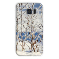 Ice Frozen On Plants Phone Case Galaxy S6 / Snap Gloss & Tablet Cases