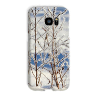Ice Frozen On Plants Phone Case Galaxy S7 Edge / Snap Gloss & Tablet Cases