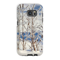 Ice Frozen On Plants Phone Case Galaxy S7 Edge / Tough Gloss & Tablet Cases