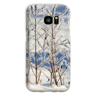 Ice Frozen On Plants Phone Case Galaxy S7 / Snap Gloss & Tablet Cases
