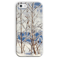 Ice Frozen On Plants Phone Case Iphone 5/5S / Snap Gloss & Tablet Cases