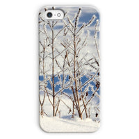 Ice Frozen On Plants Phone Case Iphone 5C / Snap Gloss & Tablet Cases