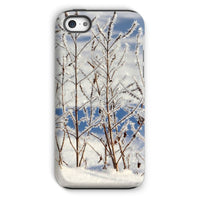 Ice Frozen On Plants Phone Case Iphone 5C / Tough Gloss & Tablet Cases
