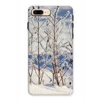Ice Frozen On Plants Phone Case Iphone 7 Plus / Tough Gloss & Tablet Cases