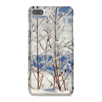 Ice Frozen On Plants Phone Case Iphone 8 Plus / Snap Gloss & Tablet Cases