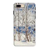 Ice Frozen On Plants Phone Case Iphone 8 Plus / Tough Gloss & Tablet Cases