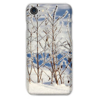 Ice Frozen On Plants Phone Case Iphone 8 / Snap Gloss & Tablet Cases