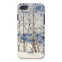 Ice Frozen On Plants Phone Case Iphone 8 / Tough Gloss & Tablet Cases