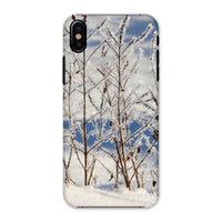 Ice Frozen On Plants Phone Case Iphone X / Snap Gloss & Tablet Cases