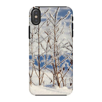 Ice Frozen On Plants Phone Case Iphone X / Tough Gloss & Tablet Cases