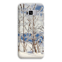 Ice Frozen On Plants Phone Case Samsung S8 Plus / Snap Gloss & Tablet Cases