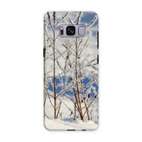 Ice Frozen On Plants Phone Case Samsung S8 Plus / Tough Gloss & Tablet Cases