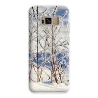 Ice Frozen On Plants Phone Case Samsung S8 / Snap Gloss & Tablet Cases