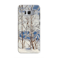 Ice Frozen On Plants Phone Case Samsung S8 / Tough Gloss & Tablet Cases