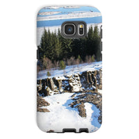 Ice Frozen On Rocky Mountain Phone Case Galaxy S7 / Tough Gloss & Tablet Cases