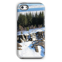 Ice Frozen On Rocky Mountain Phone Case Iphone 5C / Tough Gloss & Tablet Cases