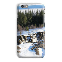 Ice Frozen On Rocky Mountain Phone Case Iphone 6S Plus / Snap Gloss & Tablet Cases