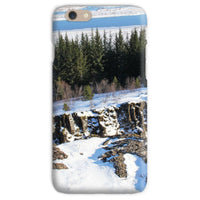 Ice Frozen On Rocky Mountain Phone Case Iphone 6S / Snap Gloss & Tablet Cases