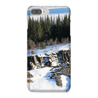 Ice Frozen On Rocky Mountain Phone Case Iphone 8 Plus / Snap Gloss & Tablet Cases
