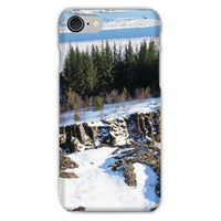 Ice Frozen On Rocky Mountain Phone Case Iphone 8 / Snap Gloss & Tablet Cases