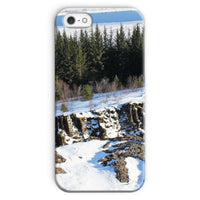 Ice Frozen On Rocky Mountain Phone Case Iphone Se / Snap Gloss & Tablet Cases