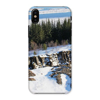 Ice Frozen On Rocky Mountain Phone Case Iphone X / Snap Gloss & Tablet Cases