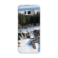 Ice Frozen On Rocky Mountain Phone Case Samsung S8 / Tough Gloss & Tablet Cases
