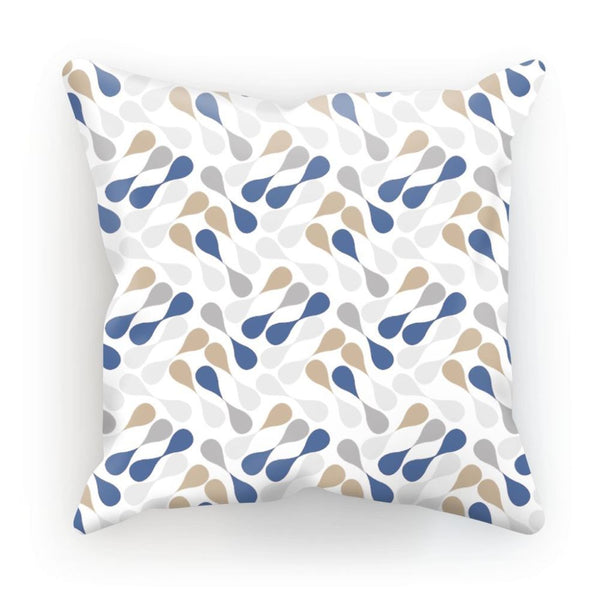 Ink Drops Colorful Pattern Cushion Linen / 12X12 Homeware