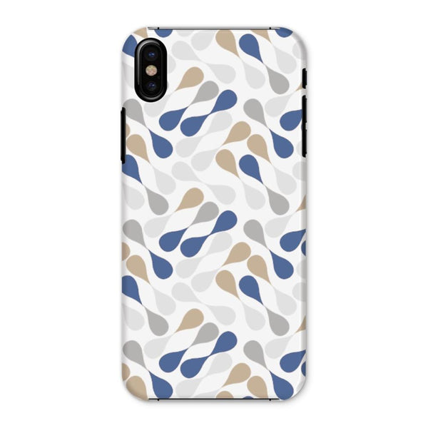 Ink Drops Colorful Pattern Phone Case Iphone X / Snap Gloss & Tablet Cases
