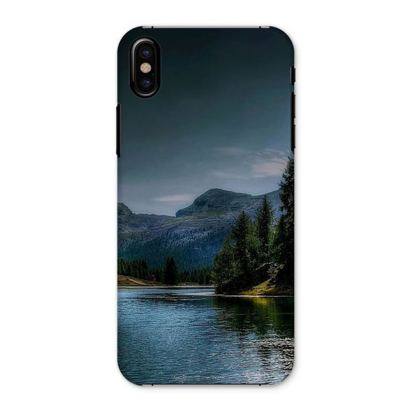 Lake In Forest With House Phone Case Iphone X / Snap Gloss & Tablet Cases