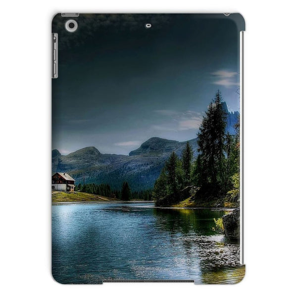 Lake In Forest With House Tablet Case Ipad Air Phone & Cases